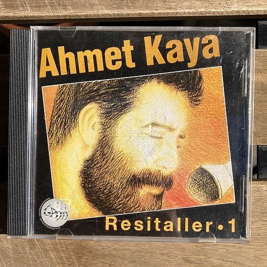 Ahmet Kaya Resitaller 1 CD