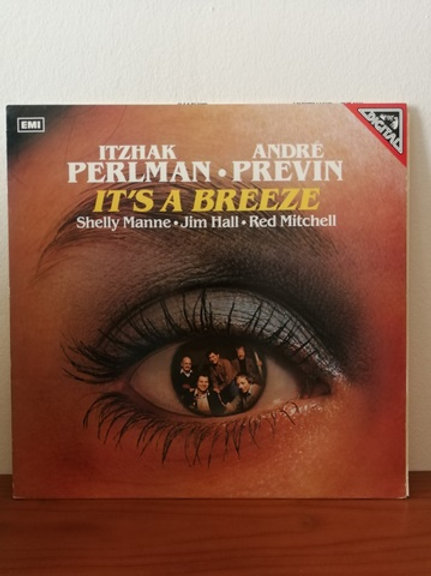 Itzhak Perlman- Andre Previn -It's a Breeze