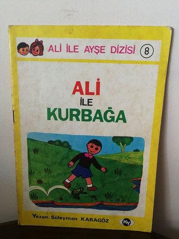 Ali ile Ayşe dizisi-8: Ali ile Kurbağa