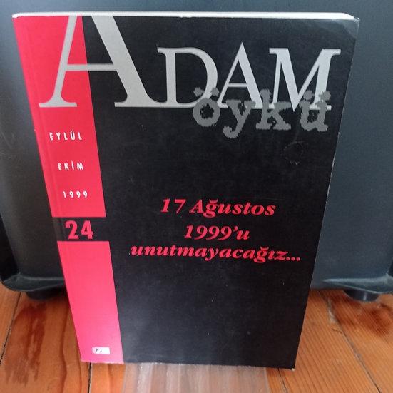 Adam Öykü: Eylül- Ekim 1999: Sayı 24