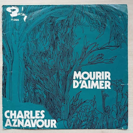 Charles Aznavour mourir d'aimer - un par un (Kapaktır)