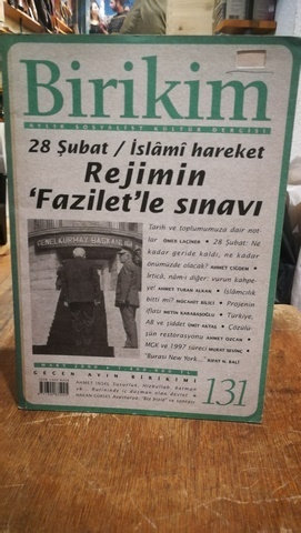 Birikim Aylık Sosyalist Kültür Dergisi Sayı: 131