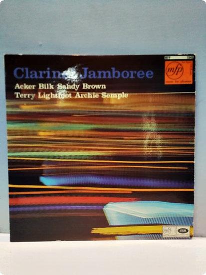 Clarinet Jamboree Acker Bilk Sandy Brown Terry Lightfoot Archie Semple LP Plak