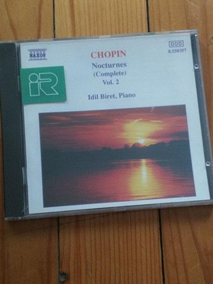 Chopin  Nocturnes klasik müzk  CD Ambalajında