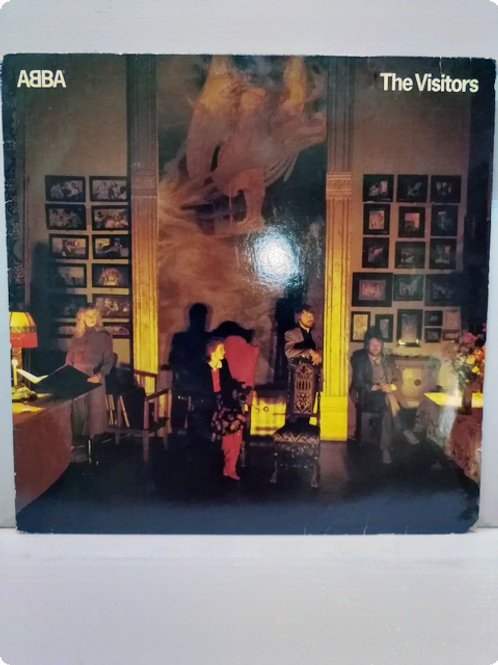 Abba- The Visitors- Plak - LP