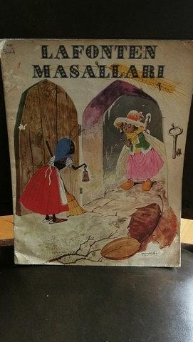 Lafonten Masalları Renkli Resimli Çocuk Kitabı