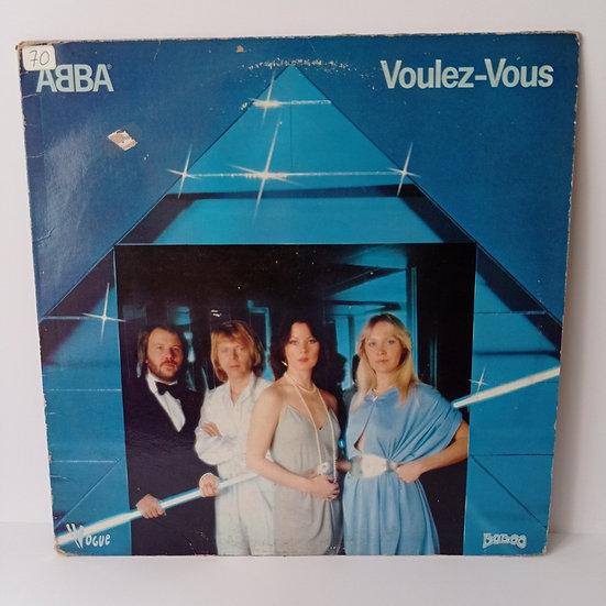 ABBA Voulez -Vous LP Plak