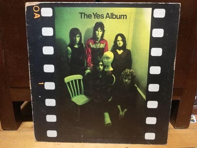 Yes The Yes Album LP Plak