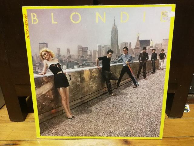 Blondie Autoamerican LP Plak