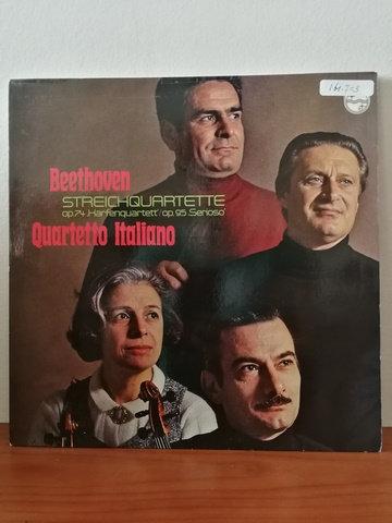 Beethoven Quartetto Italiano LP Plak