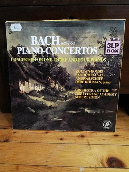 Bach Piano Concertos