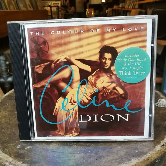 Celine Dion The Colour of My Love CD