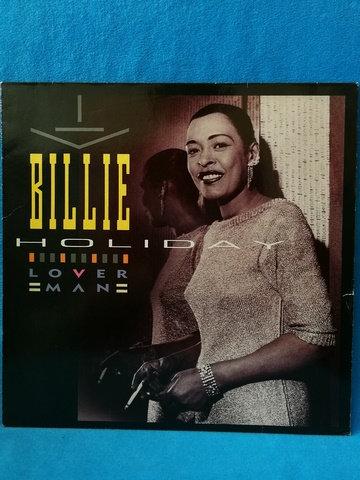 Billie Holiday Lover Man LP Plak