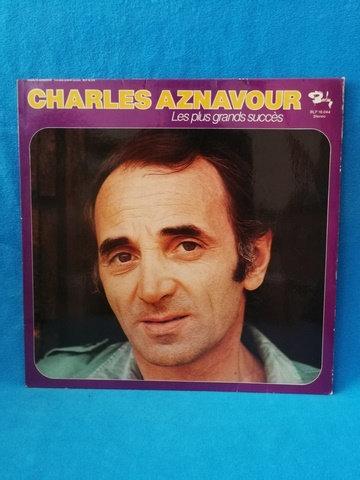 Charles Aznavour Les Plus Grands Succes LP Plak