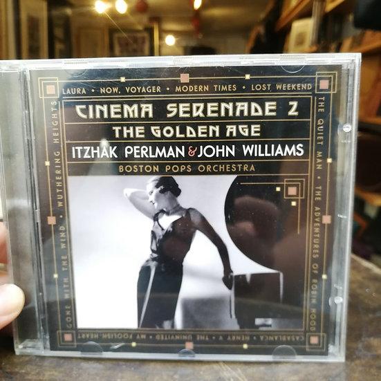 Cinema Serenade 2: The Golden Age Itzhak Perlman and John Williams CD