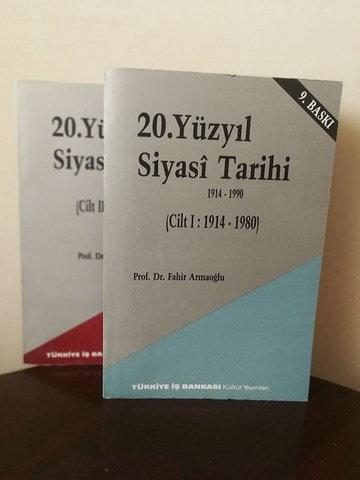 20. yüzyıl Siyasî Tarihi: Cilt 1- 2 1914-1990 (Takım Halindedir.)