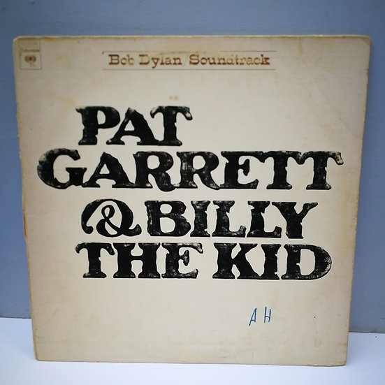 Bob Dylan Soundtrack Pat Carrett and Biliy The Kid LP Plak