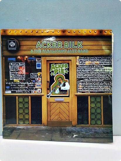 Acker Bilk and The Paramount Jazz Band LP Plak