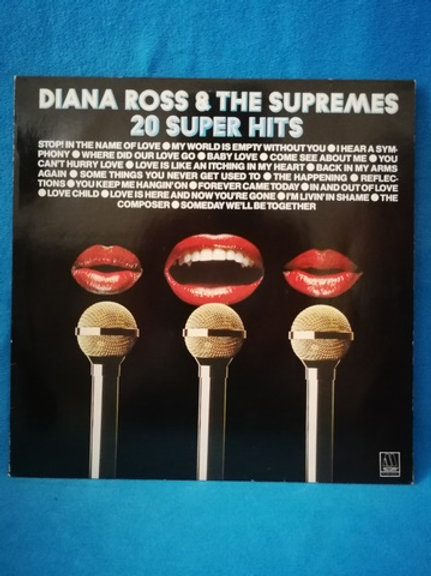 Diana Ross & The Supremes  20 Super Hits