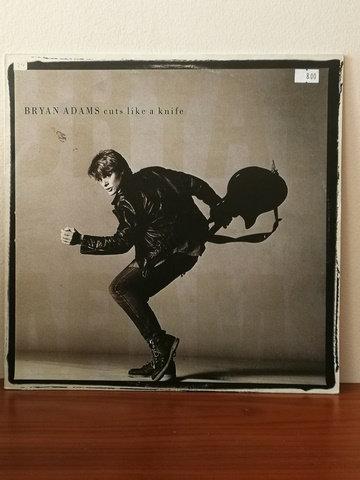 Bryan Adams cuts like a knife LP Plak