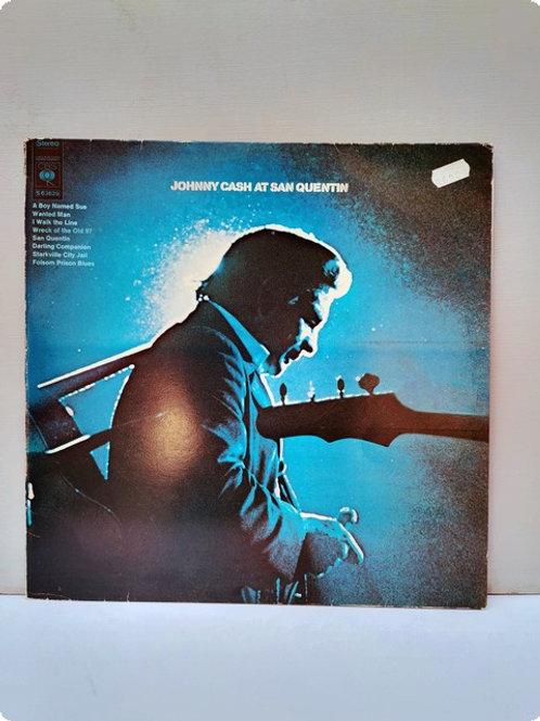 Johnny Cash at  San Quentin- Plak - LP