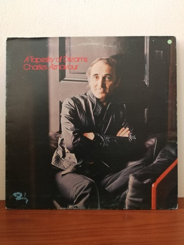 Charles Aznavour A Tapestry of Dreams LP Plak