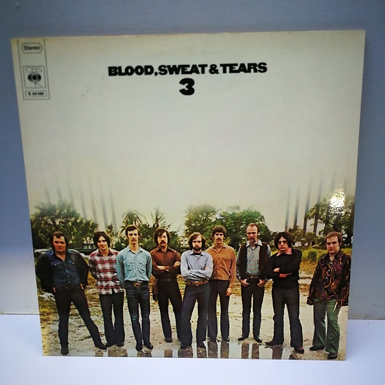 Blood Sweat and Tears 3 LP Plak