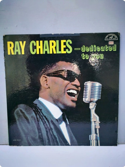 Ray Charles- Dedicated to you- Plak- LP