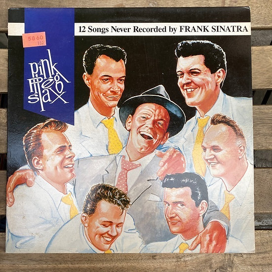 12 Songs Never Recorded by Frank Sinatra Pink Peg Slax LP Plak