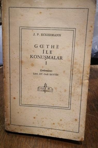 Goethe ile Konuşmalar 1