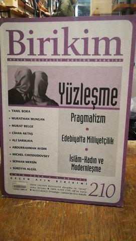 Birikim Aylık Sosyalist Kültür Dergisi Sayı: 210