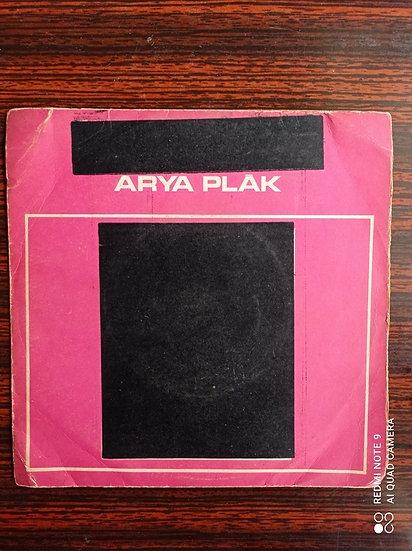 Arya plak  45'lik Kapağı
