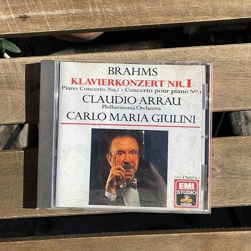 Brahms Piano Concerto no. 1- Arrau, Giulini CD