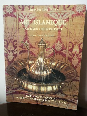 Ader Tajan / Art Islamique / Tableaux Orientalistes