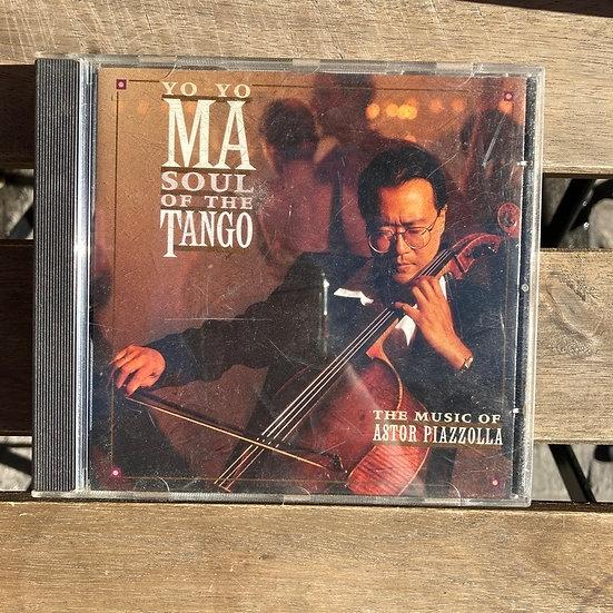Astor Piazzolla Yo Yo ma Soul of the Tango CD