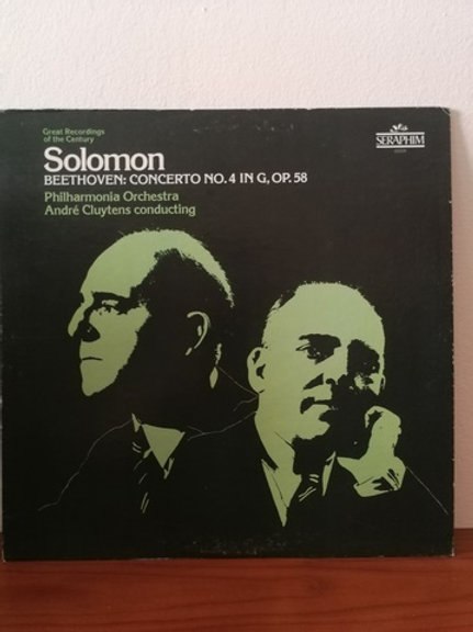 Solomon- Beethoven- Andre Cluytens conducting