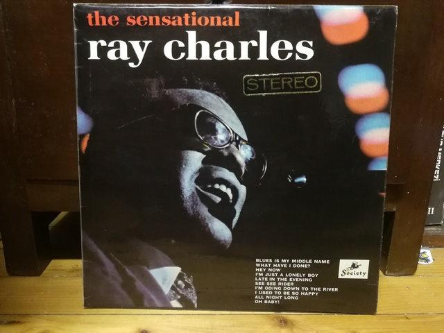 Ray Charles  The sensational LP Plak
