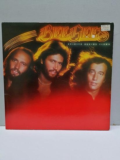 Bee Gees Spirits Having Flown LP Plak