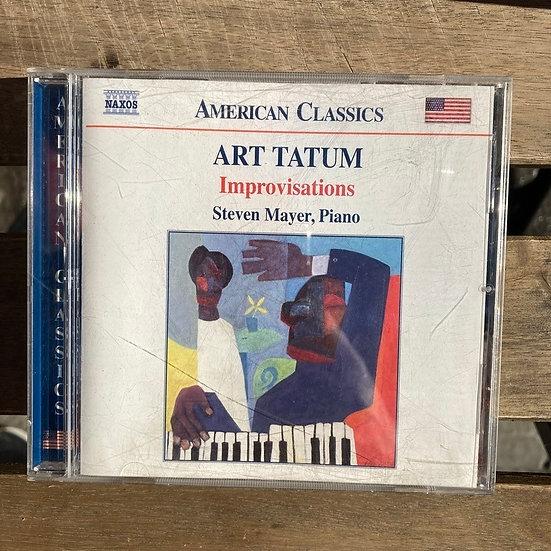 Art Tatum Improvisations CD