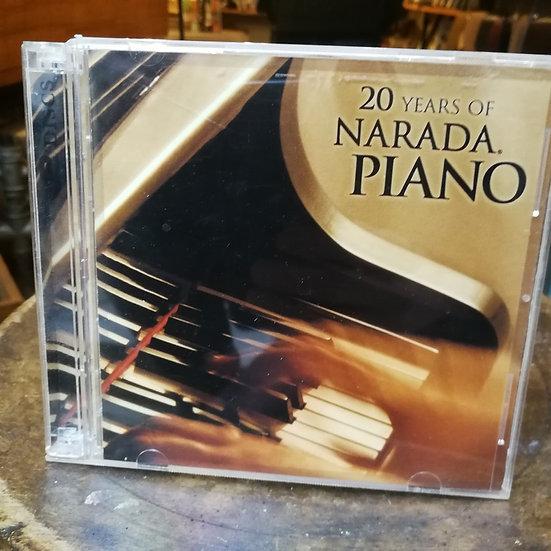 20 Years of Narada Piano CD (2 cd)
