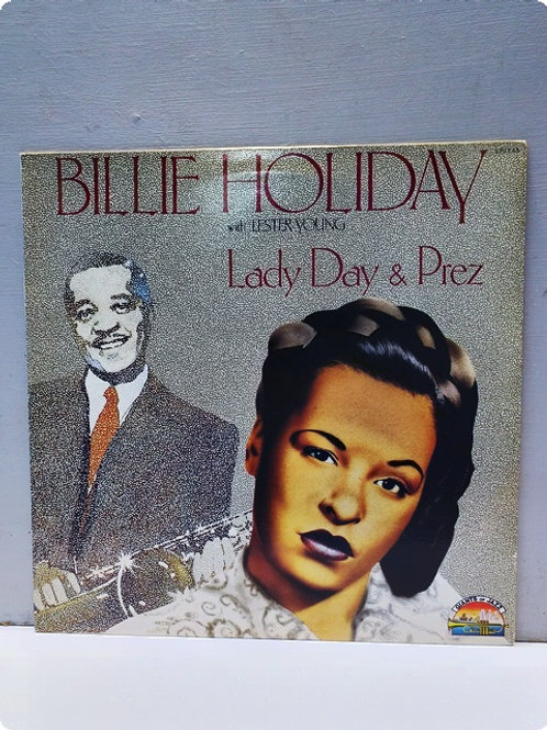 Billie Holiday- With Lester young-Lady Day and Prez-Plak-LP