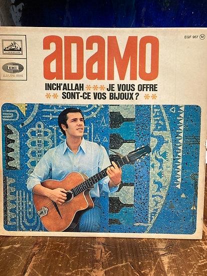 Adamo 45'lik Plak