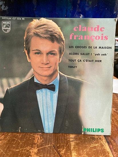 Claude François 45'lik Plak