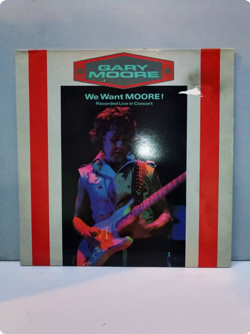 Gary Moore- We Want Moore - Plak - LP (Double)