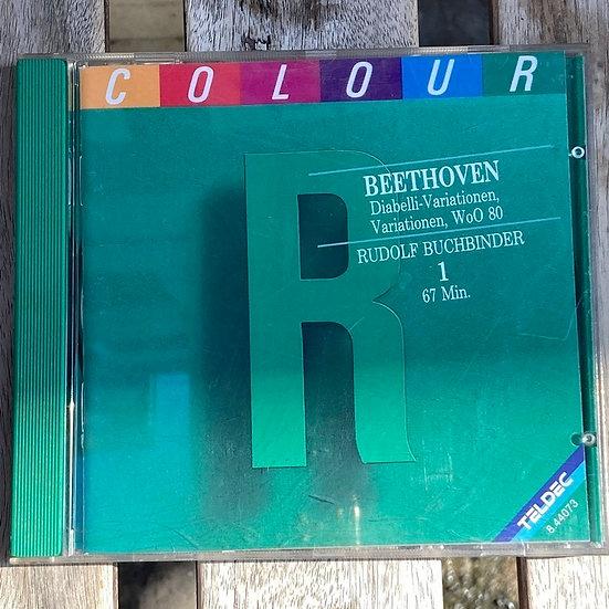 Beethoven: Klaviervariationen Rudolf Buchbinder CD