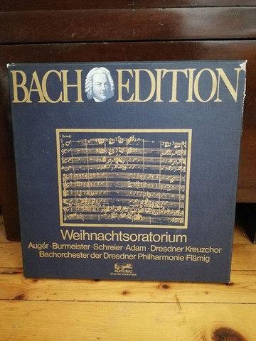 Bach Edition Weihnachtsoratorium LP Plak