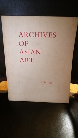 Archives Of Asian Art XLIII / 1990