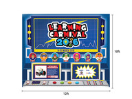 Stage Backdrop - Learning Carnival 2015