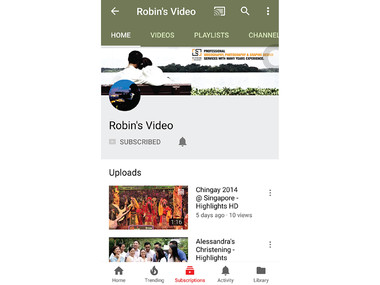 Youtube Banner (Mobile)