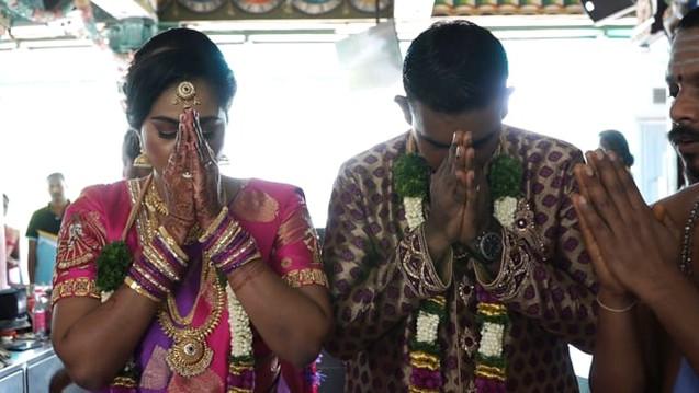 Indian Wedding Temple Wedding